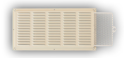 Maxflo tan soffit vents